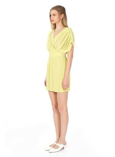 Tuba Ergin Elbise Sarı